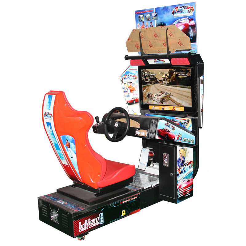 Coin Operated Car Racing Arcade Machine Indoor Arcade Outrun Game Machine