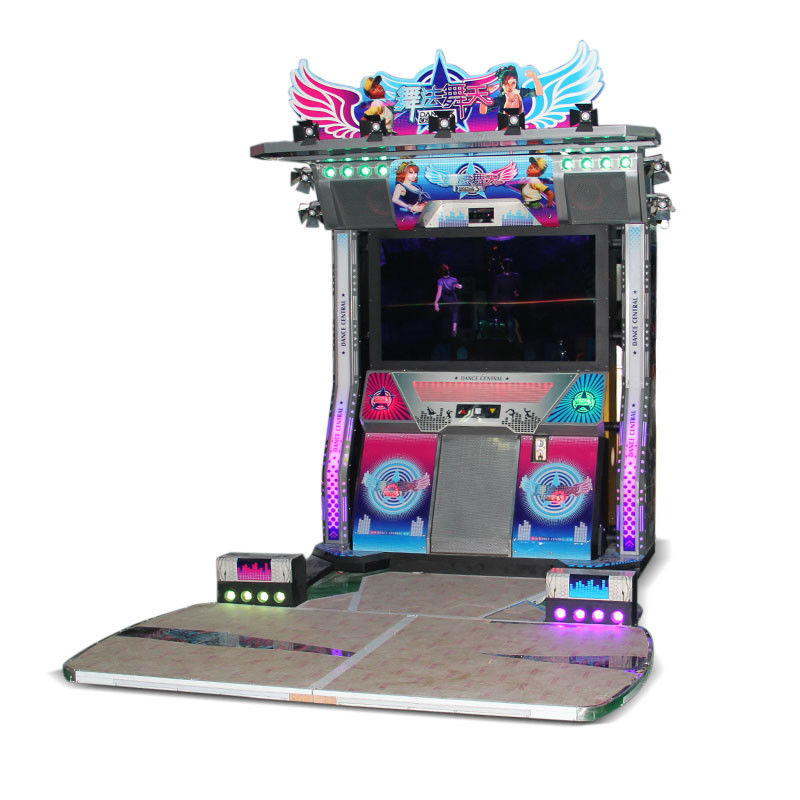 Music Simulator Pump It Up Arcade Machine 2 Player Dancing Game Machine
