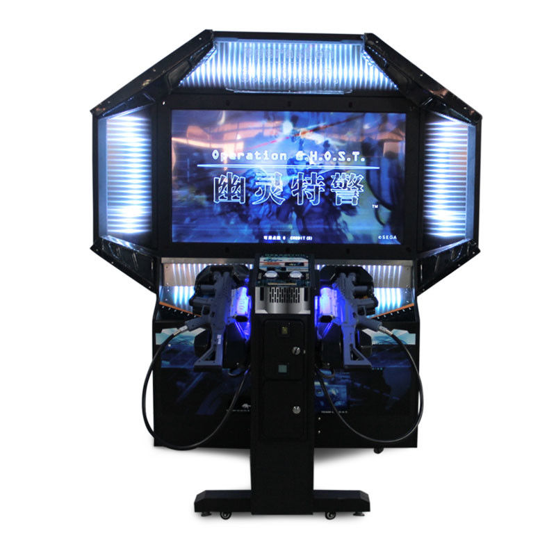 2 Players Commercial Shooting Arcade Machine Coin Operated Operation Ghost supplier