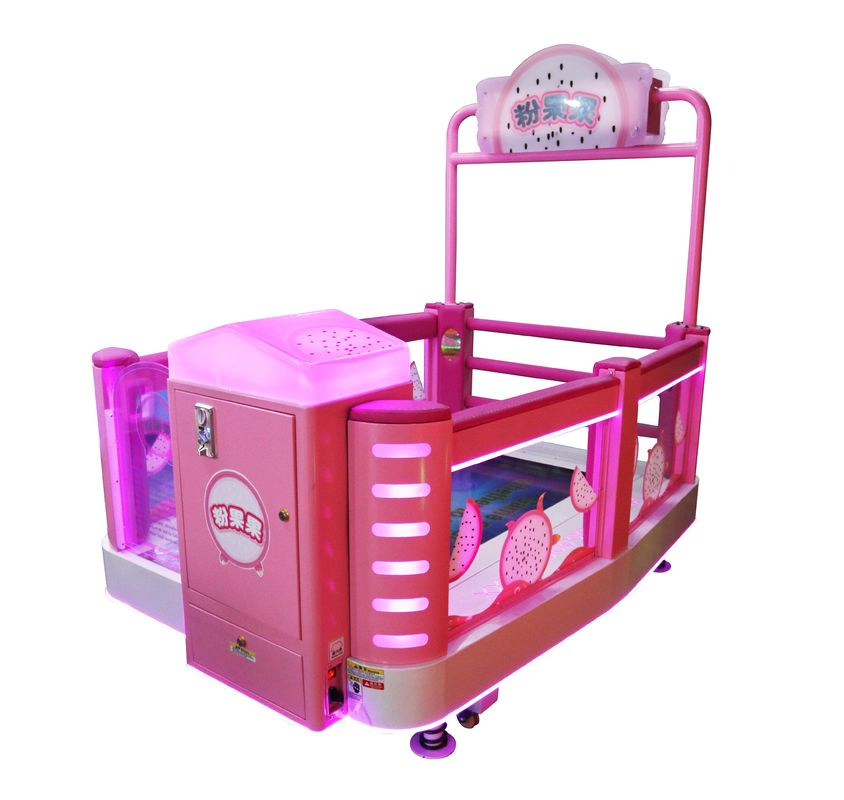 Coin Operated Kids Arcade Machine / Step On Touch Screen Amusement Game Machine supplier