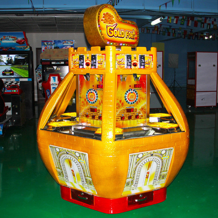 coin pusher game machine lottery game prize redemption arcade game