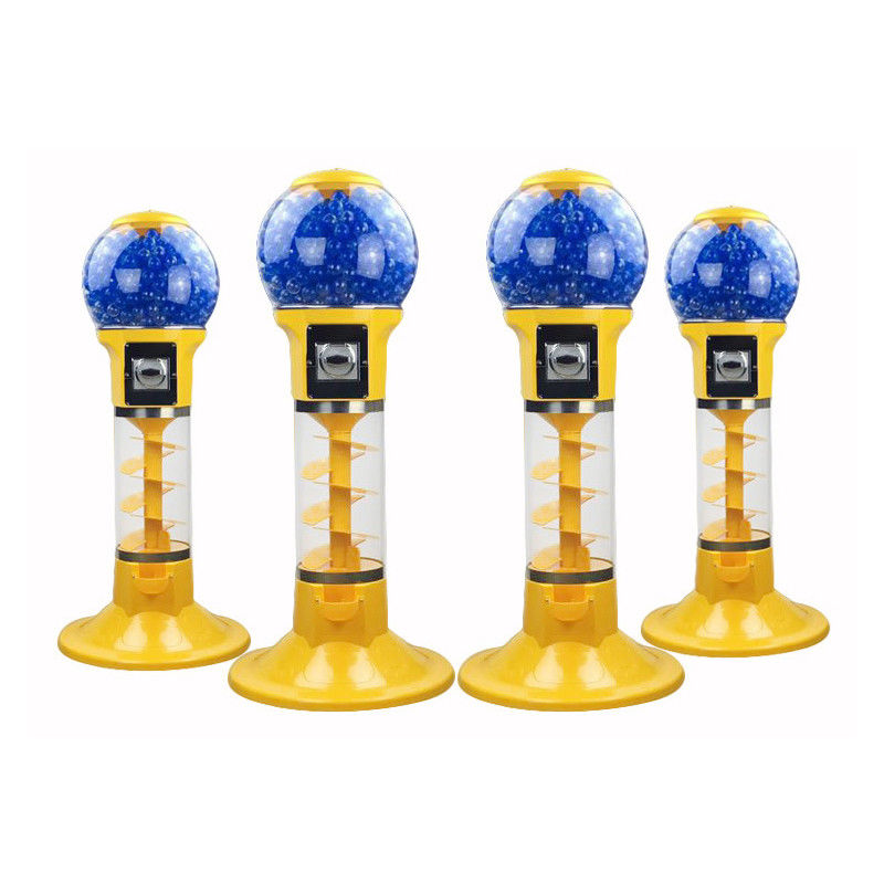 Gashapon Toy Arcade Prize Machines / Prize Ball Machine Metal Material supplier