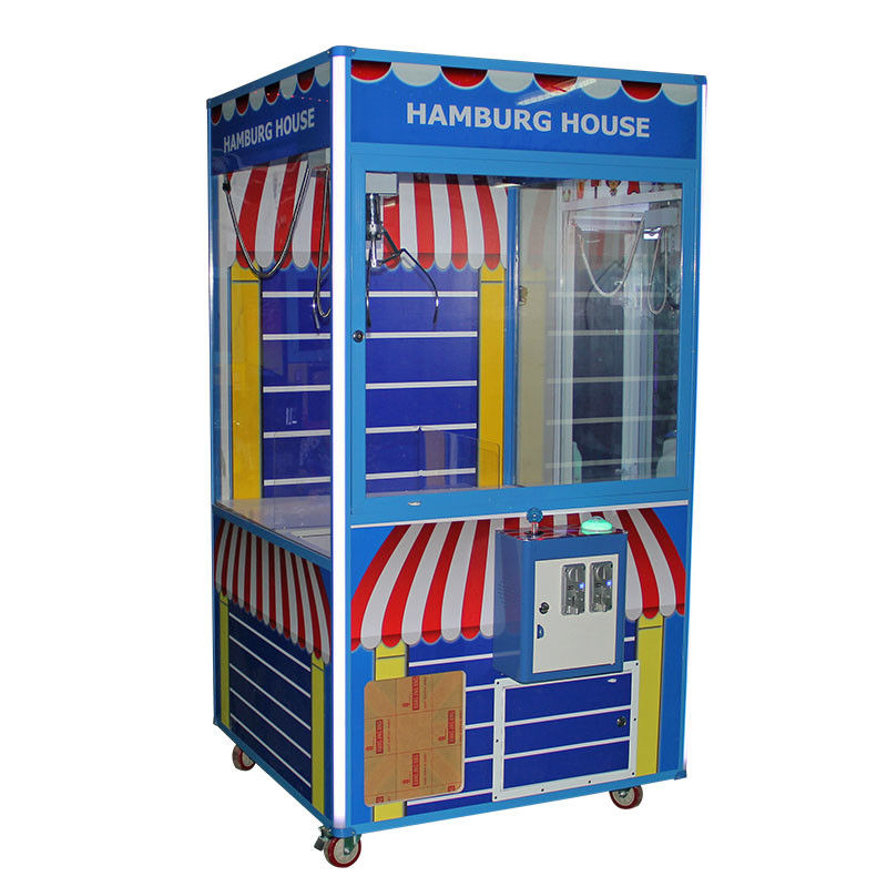 Portable Coin Operated Doll Crane Machine / Claw Vending Machine OEM Service supplier