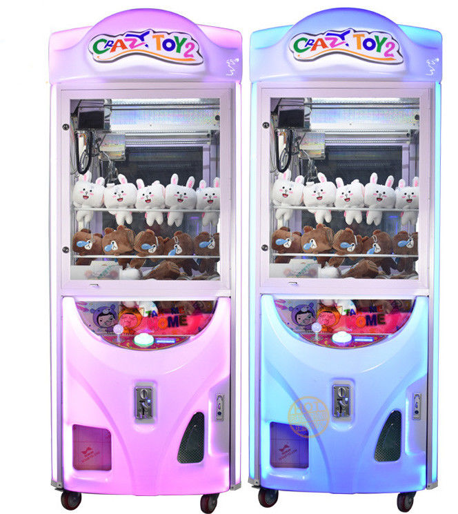 Anti - Skaing Indoor Game Toy Crane Machine With Pleasant Music CE Approved