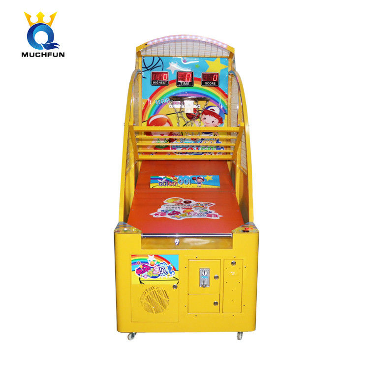 School Kids  Basketball Gaming Machine  Durable Street Hoops Arcade Machine supplier