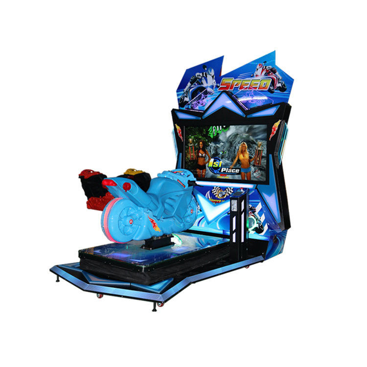 Motion Platform Arcade Motorcycle Simulator Arcade Bike Games supplier