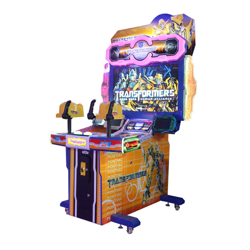 Interactive Shooting Arcade Machine / 2 Players Shooting Arcade Cabinet supplier