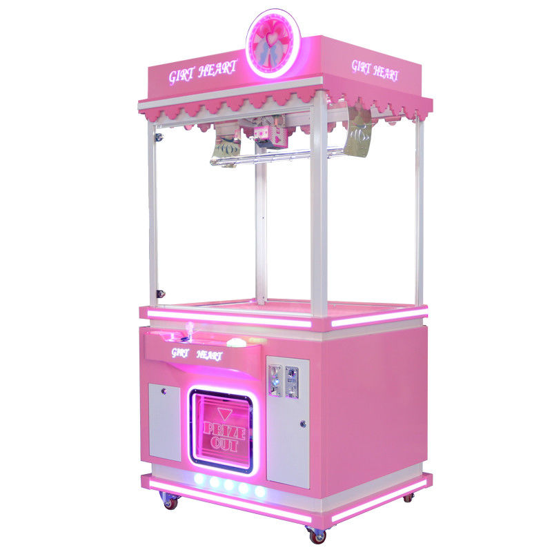 Stable Claw Crane Machine / Big Claw Machine With large Storge Cabinet