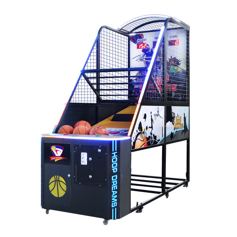 Basketball Arcade Game Machine / Commercial Basketball Arcade Game