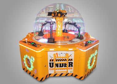 Claw Arcade Crane Machine Excavator Shape High Profitability
