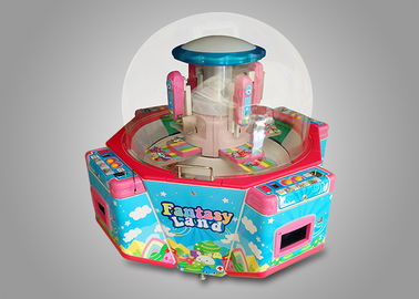 Electronic Indoor Kids Coin Op Arcade Prize Machines Fantasy Land With Gift Pusher