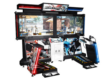 55 Inch Screen 5 Time Crisis Arcade Machine For Teenagers , Original Arcade Machines