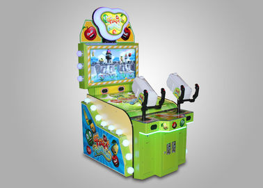 Kiddie Shooting Street Fighter Arcade Machine Japanese Style Gun Strike