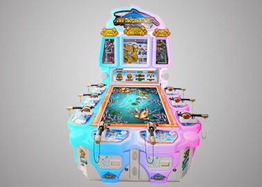 Promotional Fish Hunter Arcade Machine Acrylic Shell For Family Entertainment Center