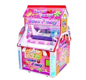 Sweet Frenzy High quality children 2 player candy machine vending sugar gift game machine