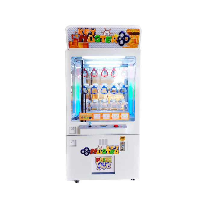 Commercial Key Master Prize Vending Machine Golden Smart Prize Time Claw Machine