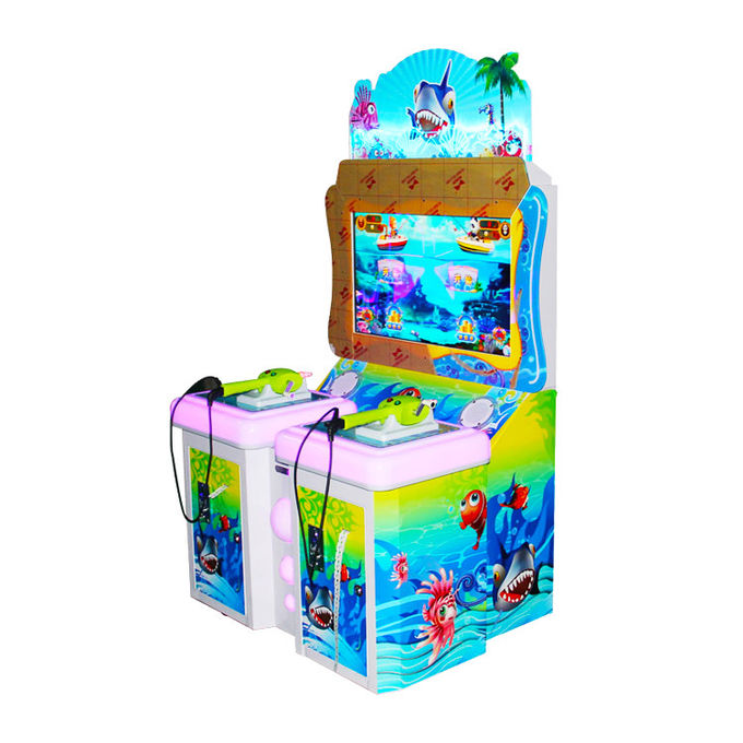 Indoor Coin Operated Arcade Games Machines 180W 2 Player Metal Material